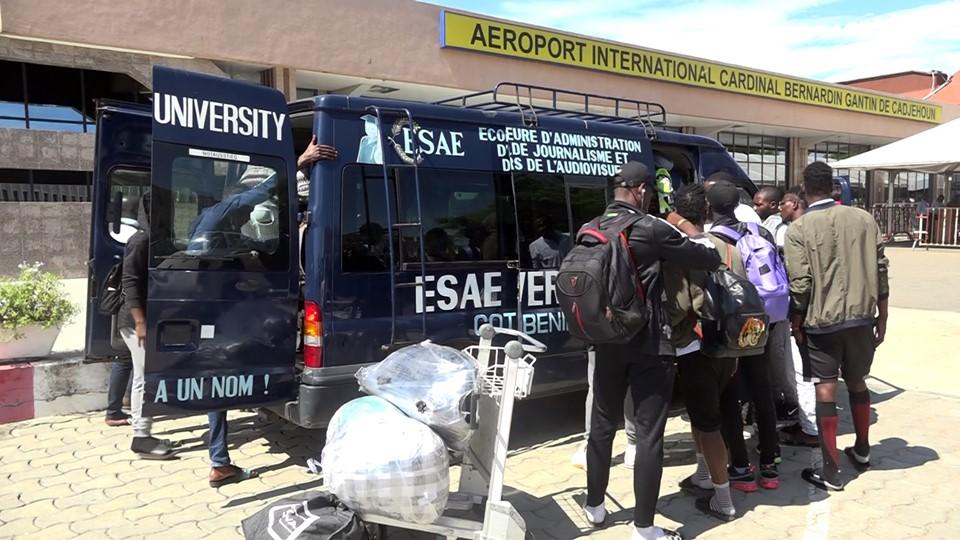 Retour de ESAE FC à Cotonou après la victoire contre Génération Foot